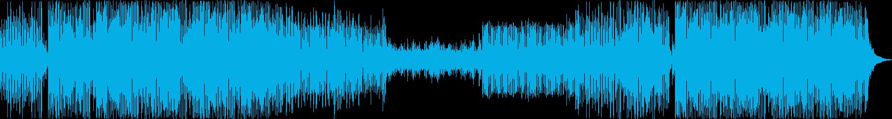 エレクトロニック 説明的 繰り返し...の再生済みの波形