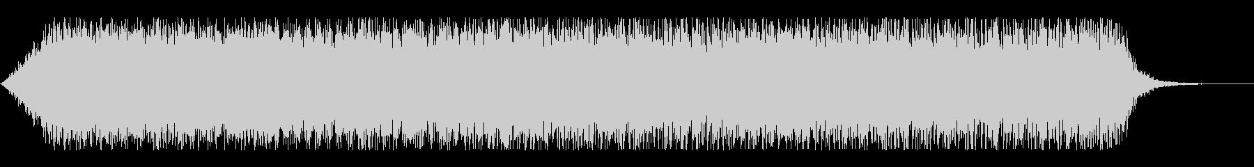 機体プロペラ音(ブイーン)の未再生の波形