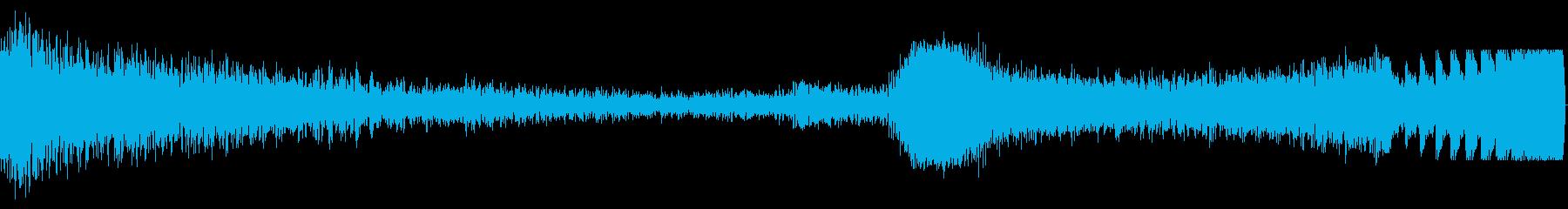 Space Fx:ヒットトゥビルドの再生済みの波形