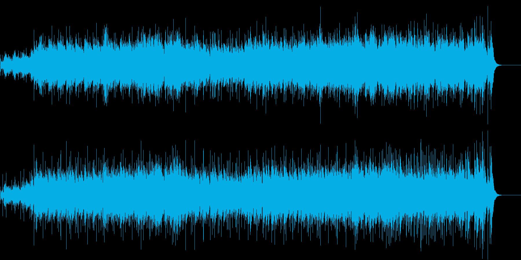 イージーリスニング(夏の終わりの予感)の再生済みの波形