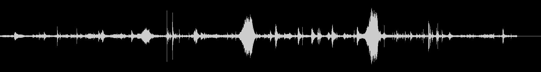 牛-内部に係留の未再生の波形