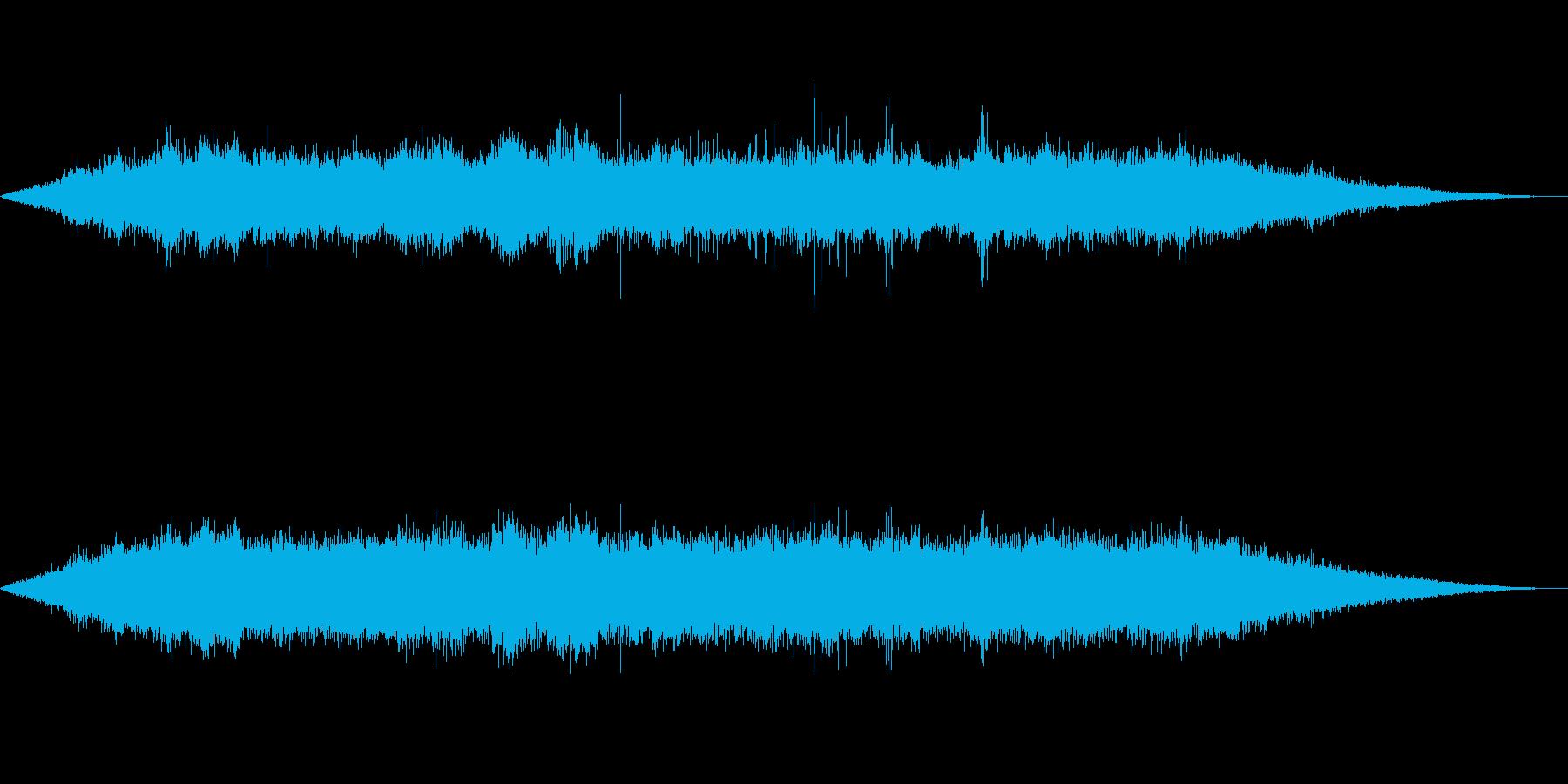 海 波 浜辺 海岸 カモメの環境音 18の再生済みの波形