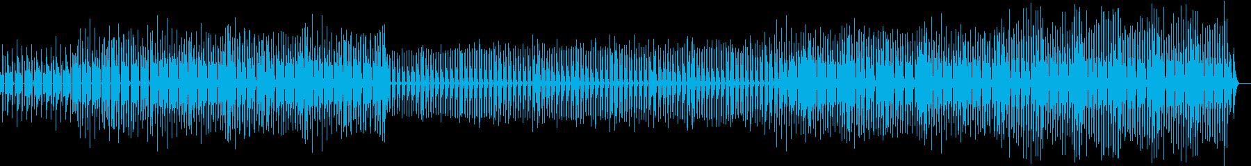 かわいく使えるシンプルポップの再生済みの波形