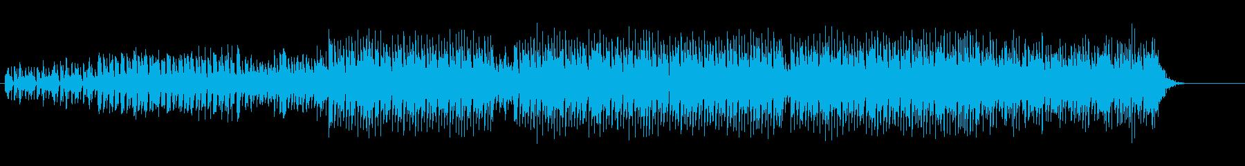 都会の夜のハイパーマイナークラブポップスの再生済みの波形