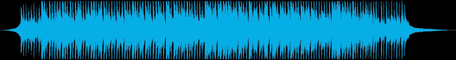 ノスタルジックな口笛メロディの曲の再生済みの波形