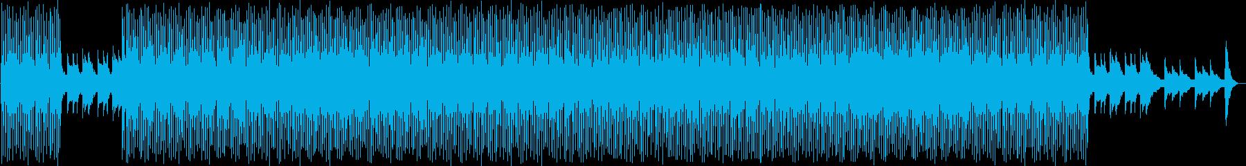 背景をポップします。 Nigfht...の再生済みの波形