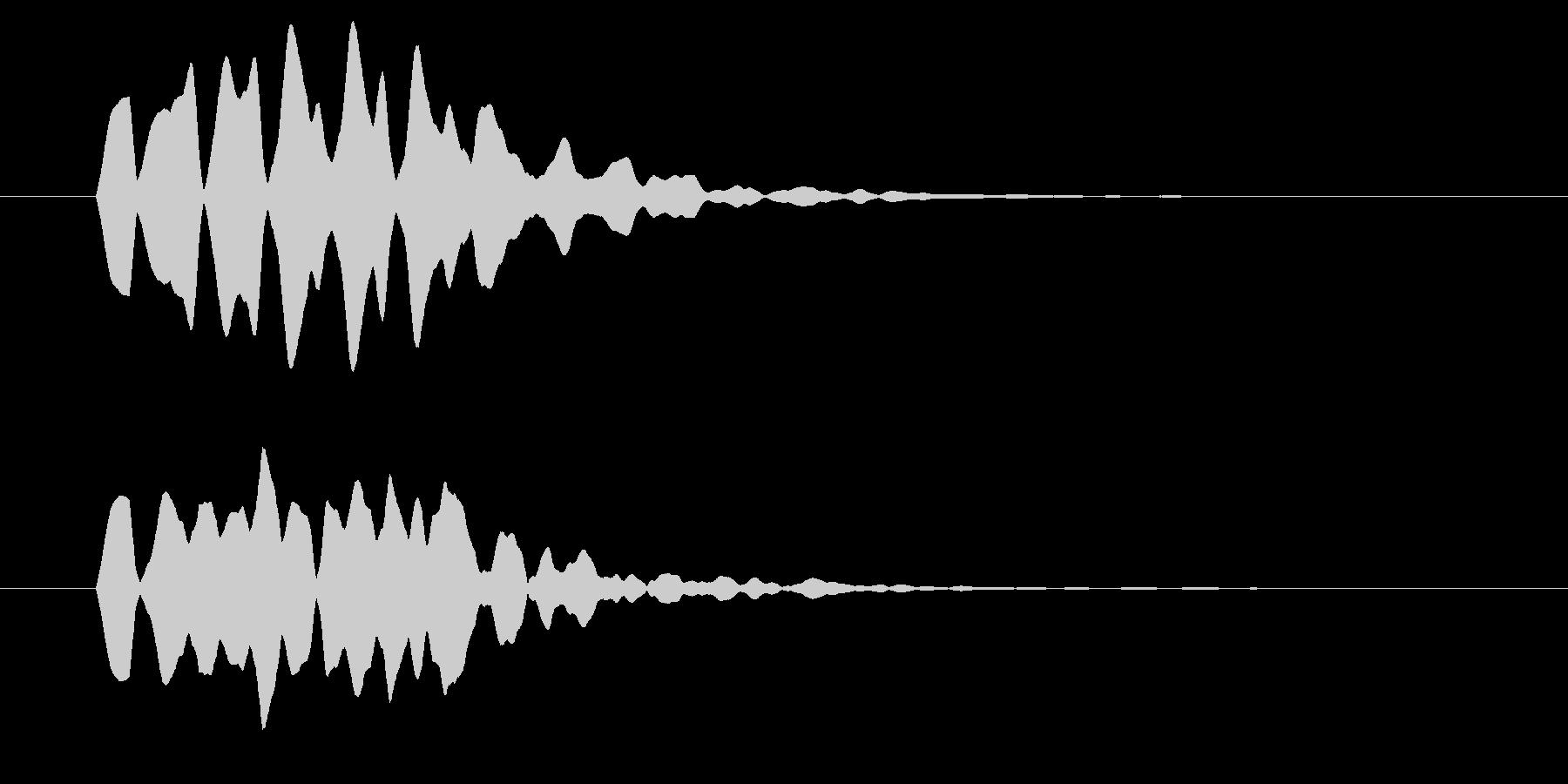 改札 ビープ音01-16(音色2 遠)の未再生の波形