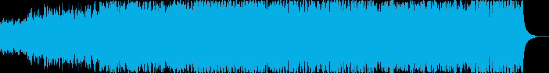 疾走感のあるピアノとリズムで軽快な登場にの再生済みの波形