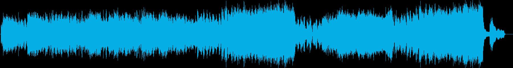 ピアノの旋律が特徴的なBGM:春の自然の再生済みの波形