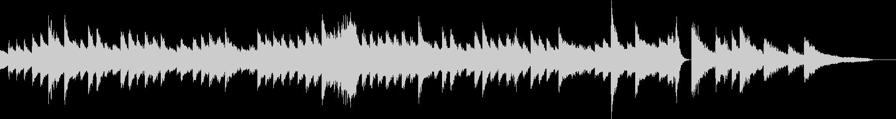 壮大なメロディの清々しいピアノジングルの未再生の波形