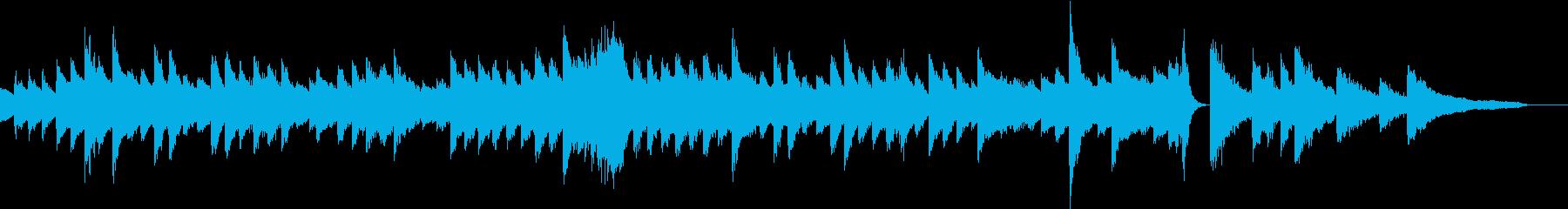 壮大なメロディの清々しいピアノジングルの再生済みの波形