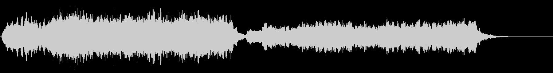 悲しい時によく使われるクラシックの未再生の波形