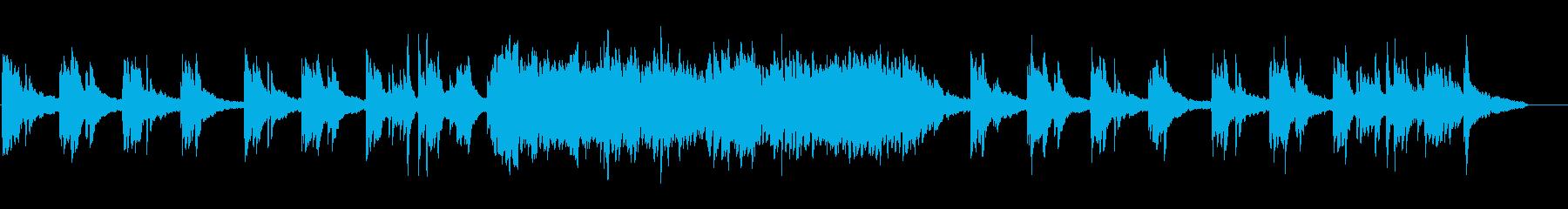 汎用性高!美しい癒やしのソロピアノの再生済みの波形