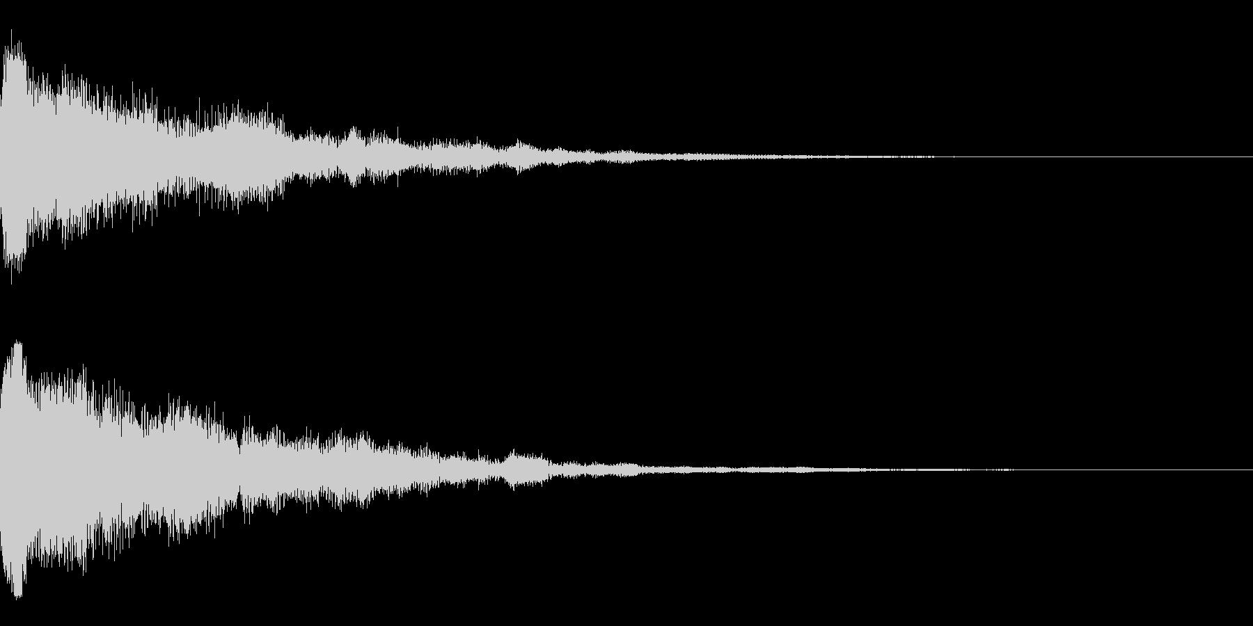 カーン(決定_05)の未再生の波形