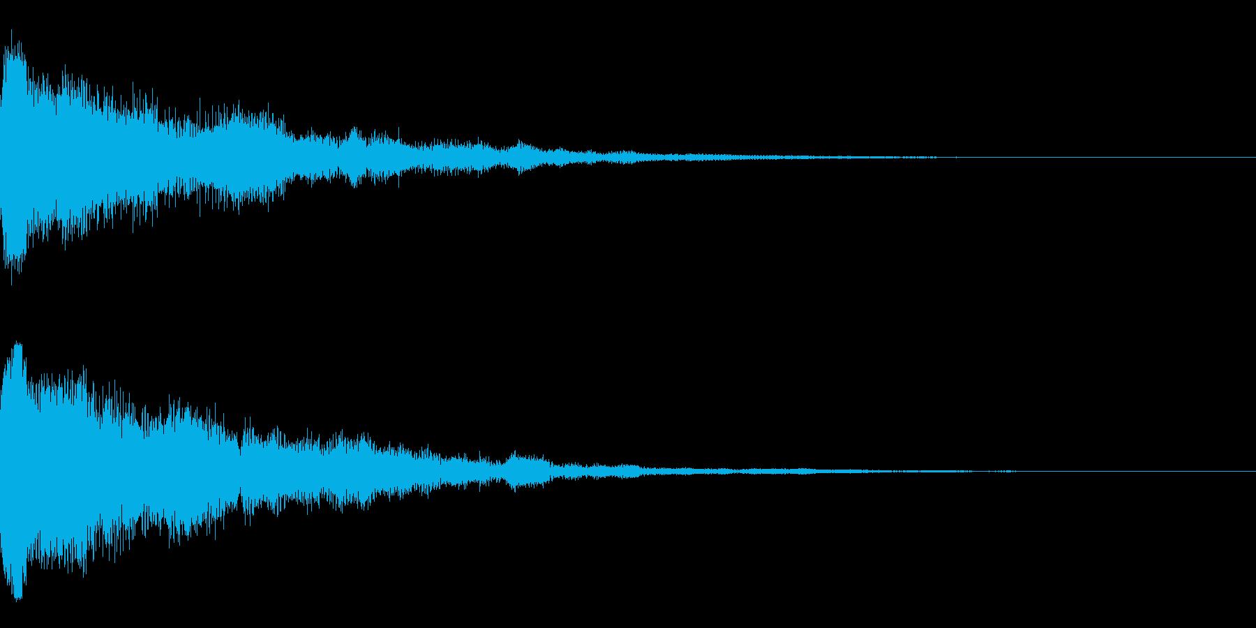 カーン(決定_05)の再生済みの波形