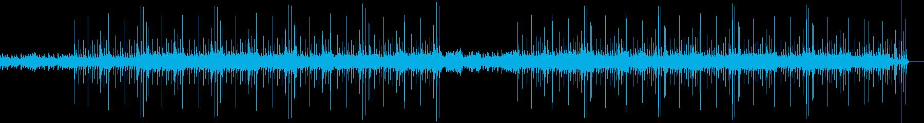 アコギのアルペジオが特徴のシンプルな曲の再生済みの波形
