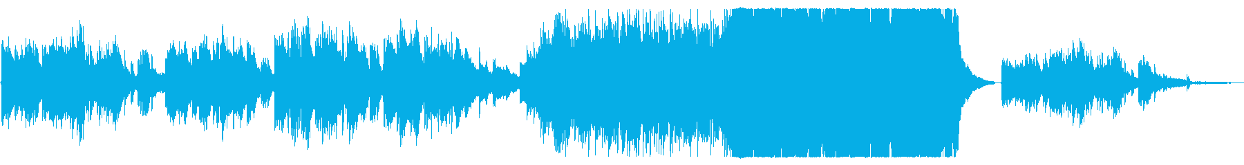 切なくも感動的な映像向けバイオリン小編成の再生済みの波形