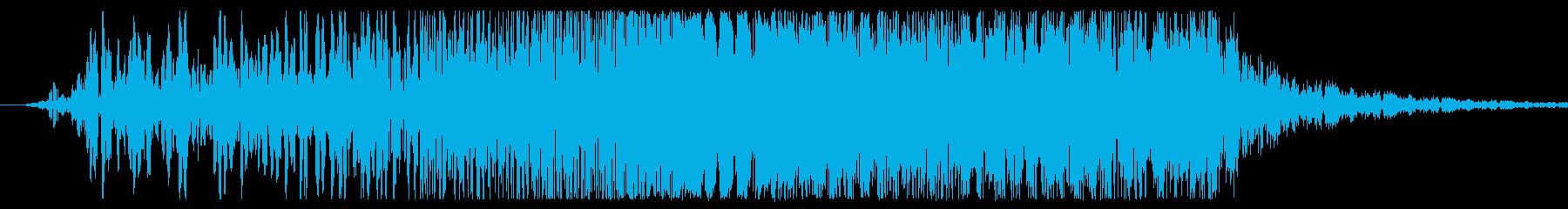 内蔵レーザーWoosh Rush ...の再生済みの波形