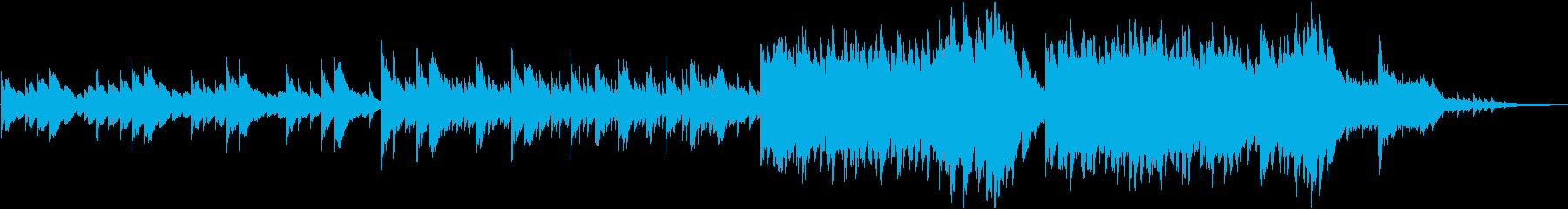 ピアノと弦で爽やか・柔らか・感動バラードの再生済みの波形