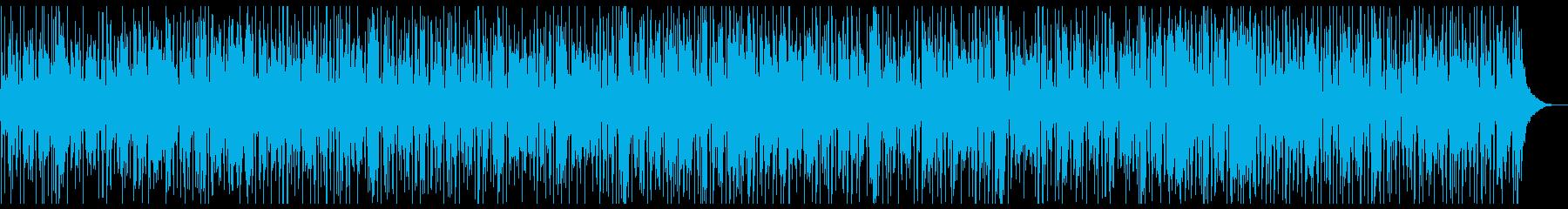 くつろぎタイムのジャズファンクの再生済みの波形