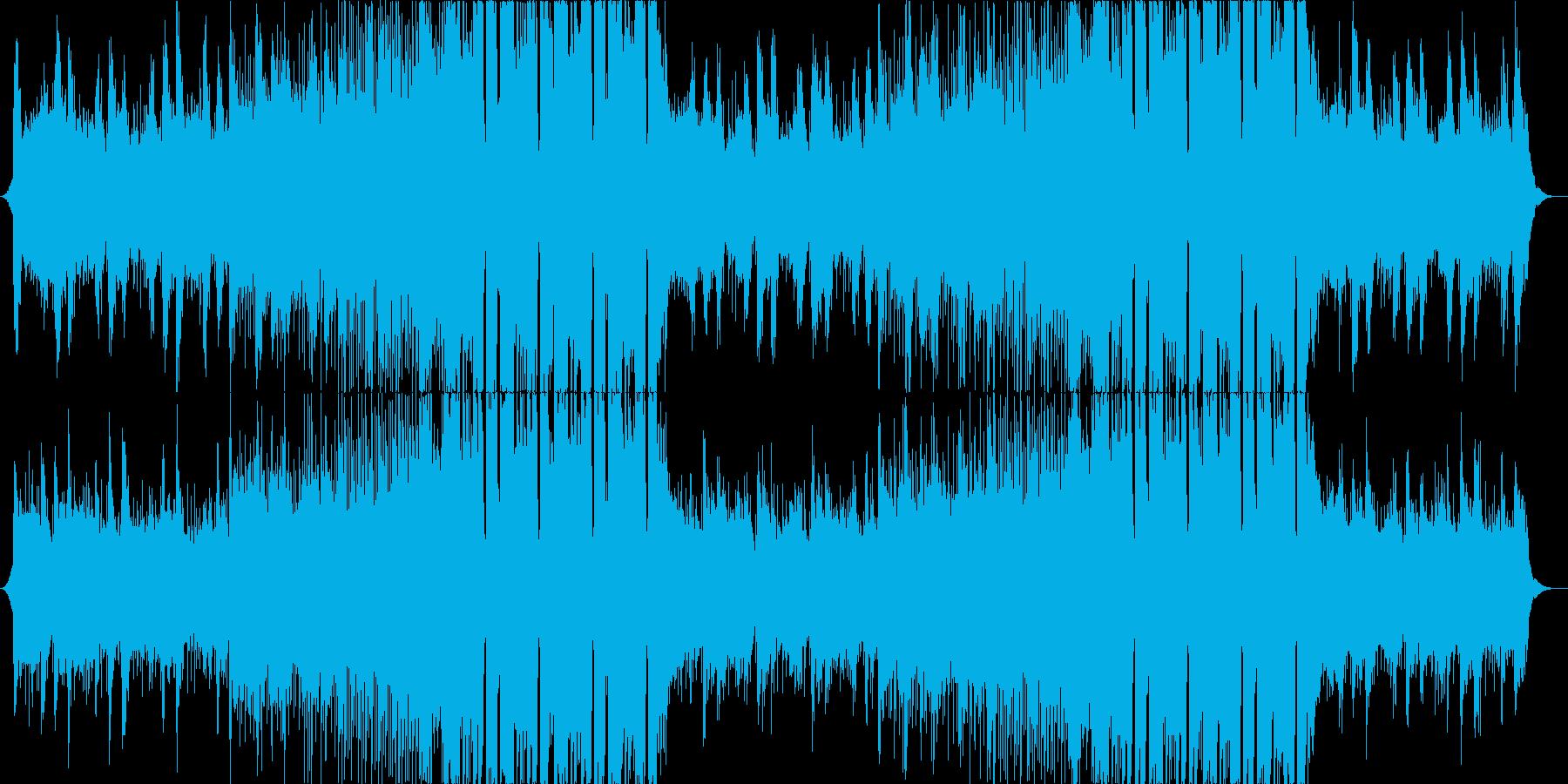FutureBass2、洋楽、爽快、夏aの再生済みの波形