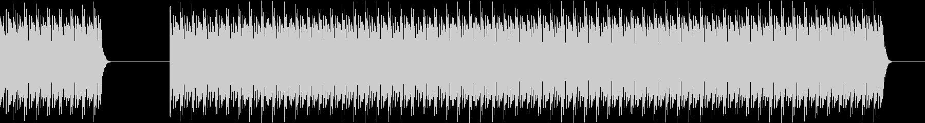 ブブー(不正解、間違い)の未再生の波形