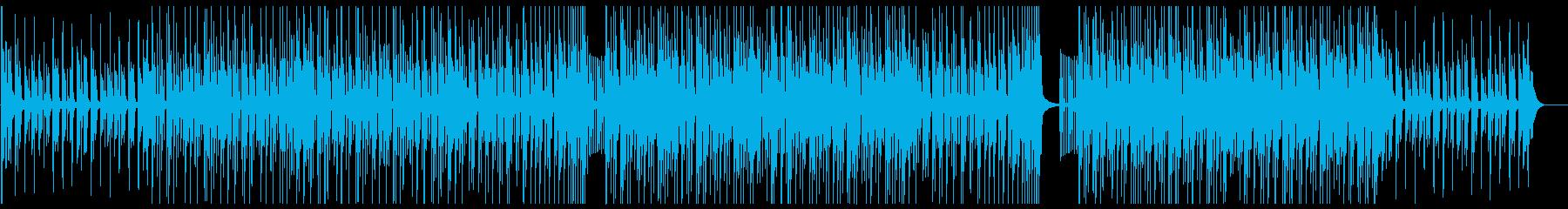 K-POP、洋楽、ヒップホップ bの再生済みの波形