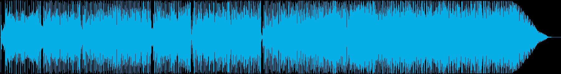 ラテンフレーバーのスムースジャズ曲!の再生済みの波形