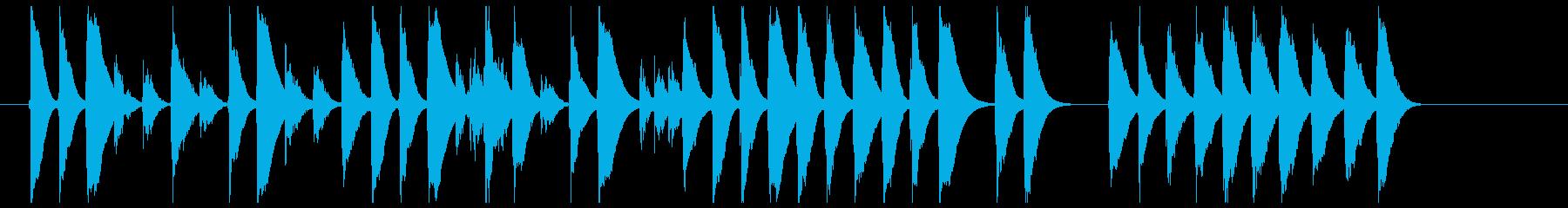 おもちゃのピアノで切ない曲の再生済みの波形