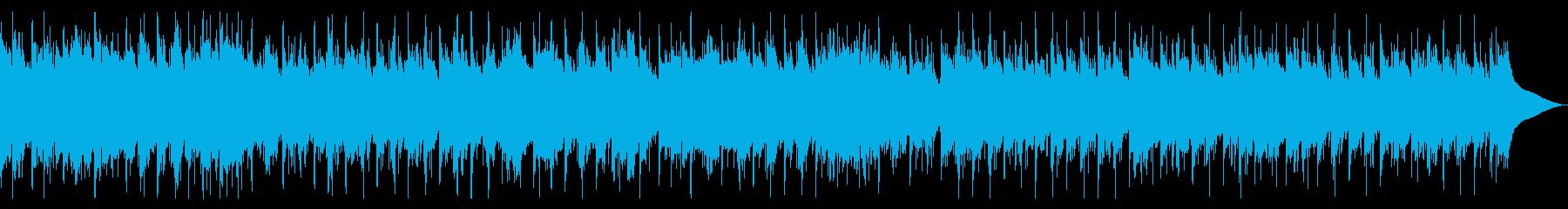 やさしく爽やかな安らぎBGMの再生済みの波形