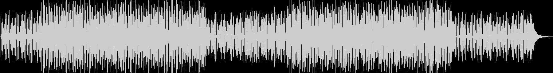 ティータイム感のあるおしゃれなボサノヴァの未再生の波形