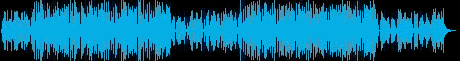 ティータイム感のあるおしゃれなボサノヴァの再生済みの波形