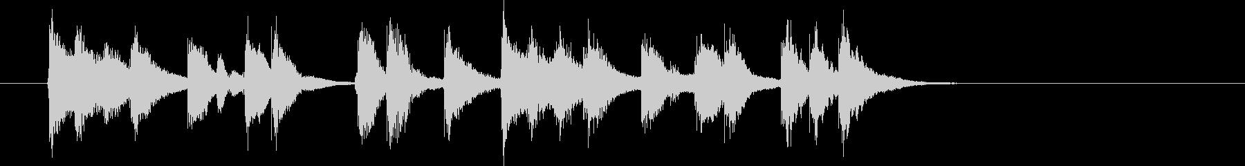 転換SEマンボかわいらしいラテンJAZZの未再生の波形