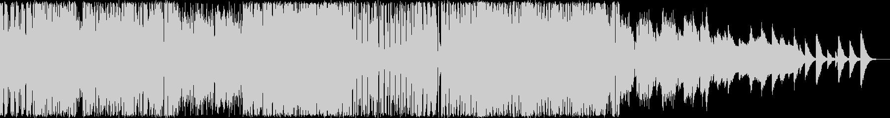 ハイテンションなピコピコシンセBGMの未再生の波形
