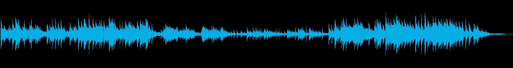 静かなピアノソロ曲ですの再生済みの波形