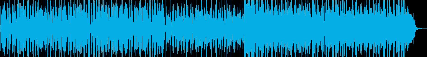 動画チャンネル登録ジングルドラムンベースの再生済みの波形