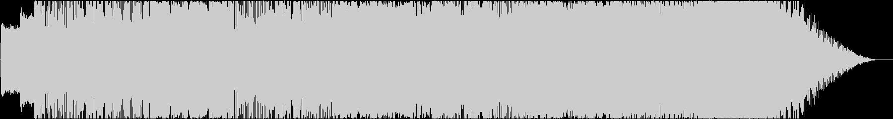 ブルース調のエレキギターが冴えるロックの未再生の波形