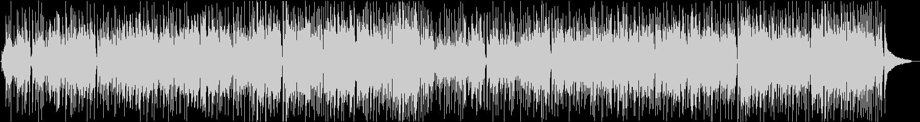 ほのぼの ボサノバ調の日常シーン向けの未再生の波形