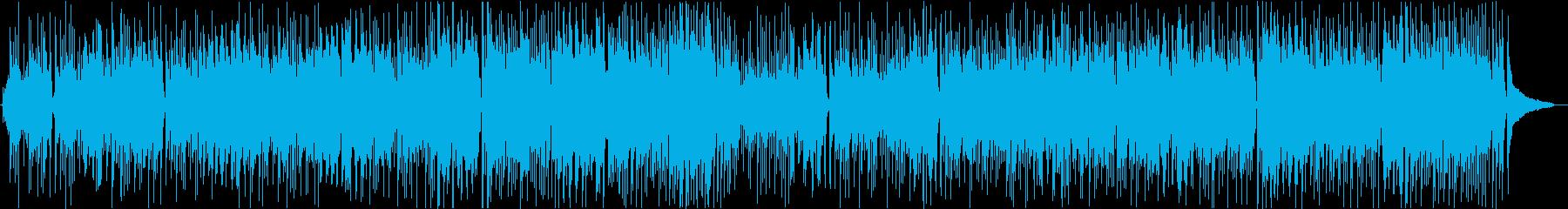 ほのぼの ボサノバ調の日常シーン向けの再生済みの波形