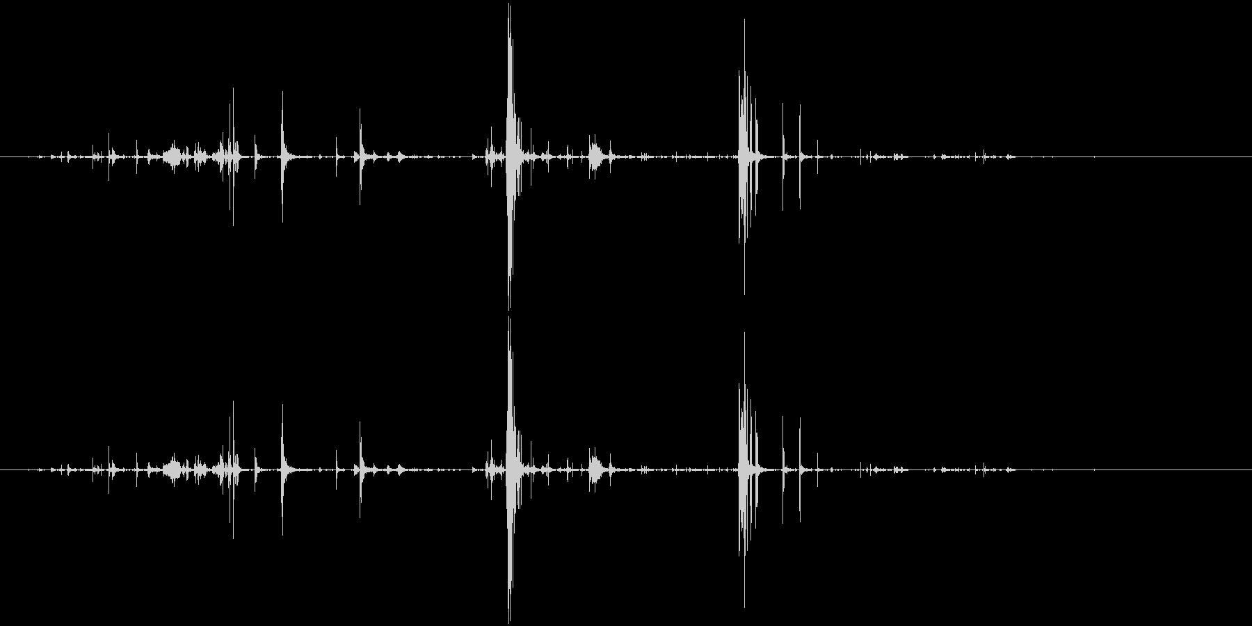 ループ・ネバネバしたものがうごめく音5の未再生の波形