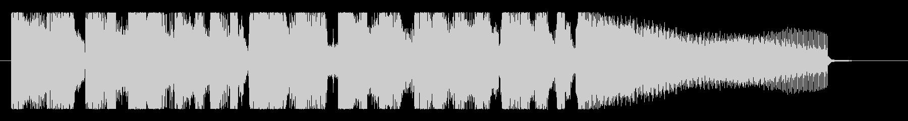 おしゃれなグルーヴ、ジャジーなR&Bロゴの未再生の波形
