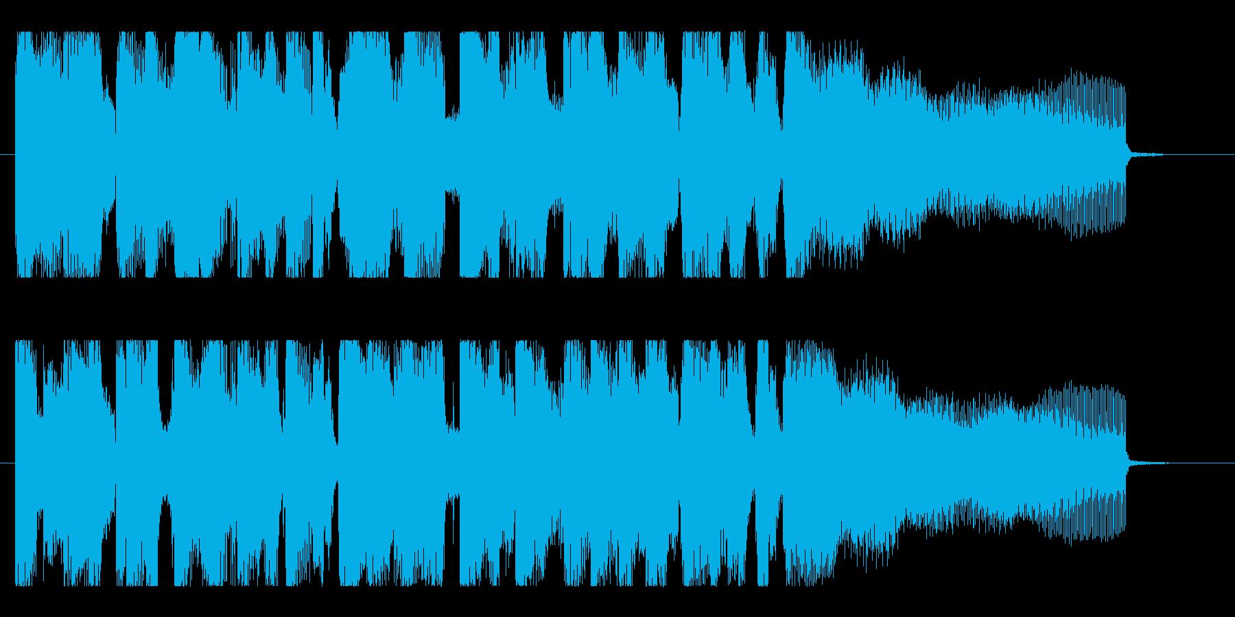 おしゃれなグルーヴ、ジャジーなR&Bロゴの再生済みの波形