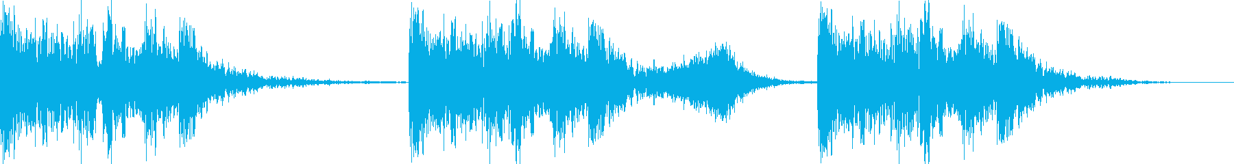 ファイトを感じるBGMの再生済みの波形
