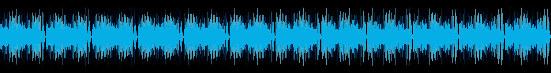 魔界・魔族系Vtuber  怪しいBGMの再生済みの波形