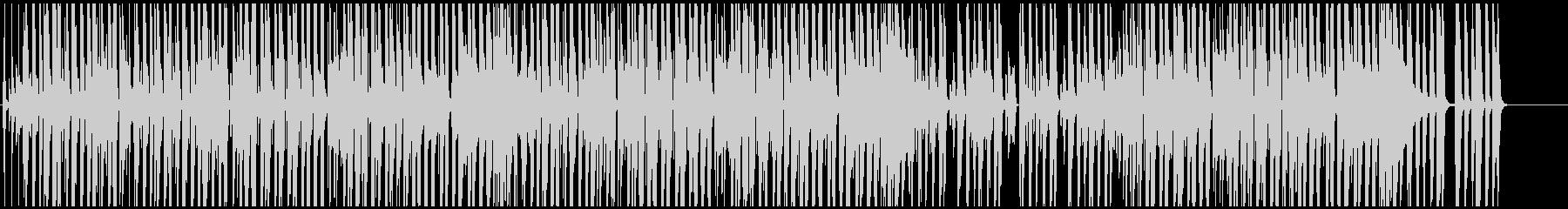 映像BGM ユルめでかわいいレゲエの未再生の波形