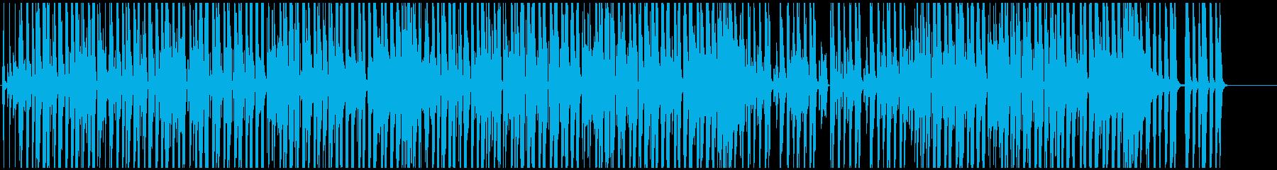 映像BGM ユルめでかわいいレゲエの再生済みの波形
