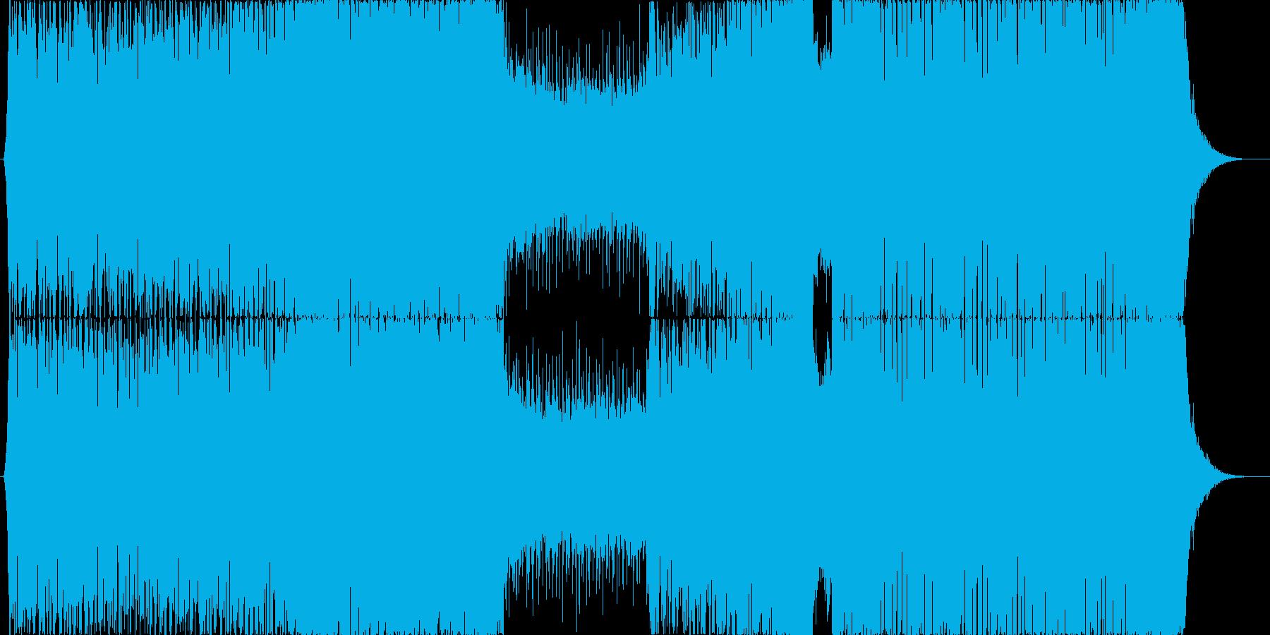 オープニング向きなEDM/疾走感ベースの再生済みの波形