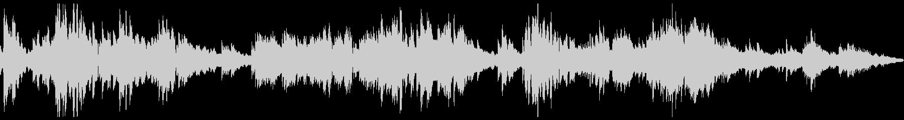 和風音楽-エレピの未再生の波形