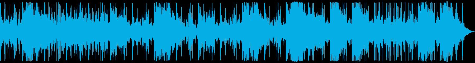 ダウンテンポのチルホップドラムと中...の再生済みの波形