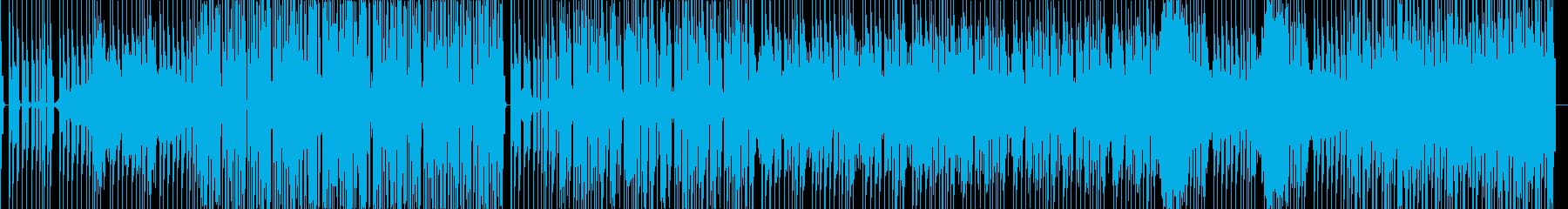 ミステリアスな雰囲気の曲です。の再生済みの波形